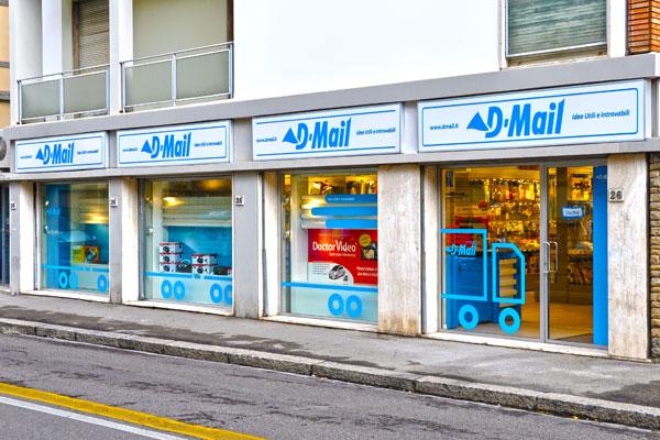 Negozio D-mail a Firenze