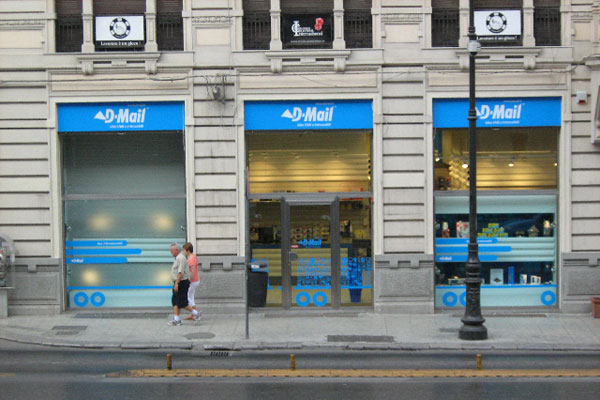 Negozio D-mail a Palermo